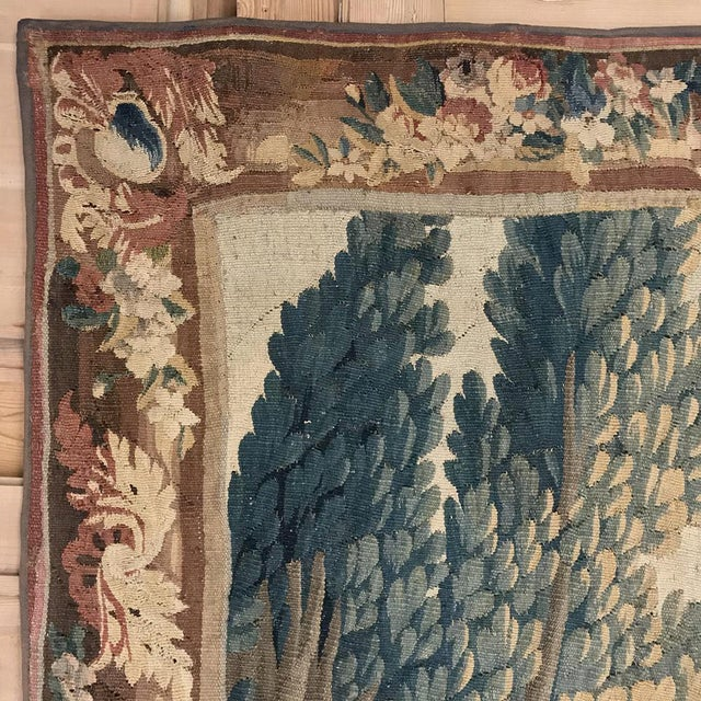 Grand 17th Century Oudenaarde Tapestry For Sale - Image 12 of 13