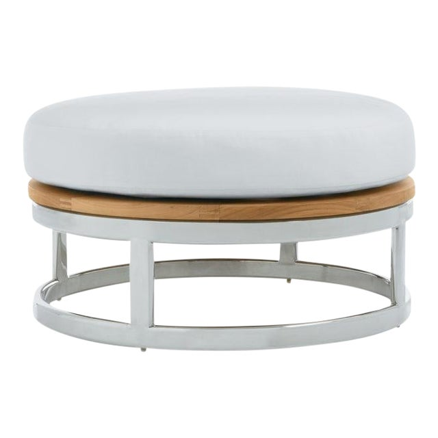"""Summit Furniture Picket 30"""" Round Footrest-ss Base For Sale"""