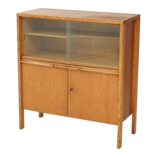 Cees Braakman early Cupboard or Bar in Oak, Netherlands, 1940s/50s For Sale