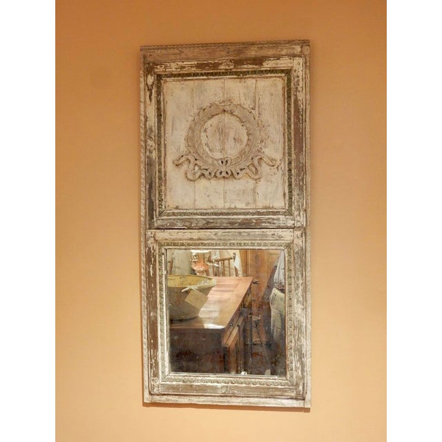 Rustic French Provincial Trumeau For Sale In New Orleans - Image 6 of 6