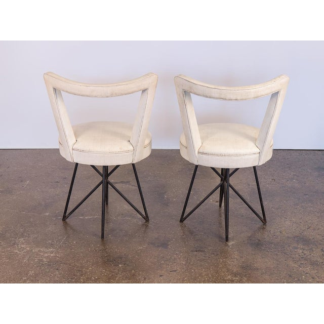 1950s Occasional Side Chairs - A Pair For Sale In New York - Image 6 of 10