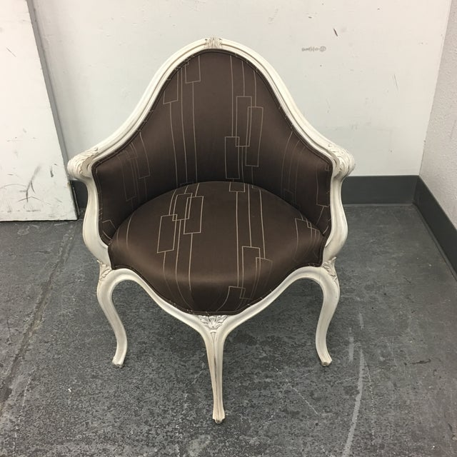 Art Nouveau Corner Chair - Image 3 of 11