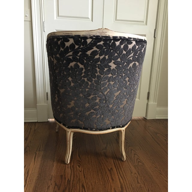 1990s 1990s French Schumacher Chair For Sale - Image 5 of 7