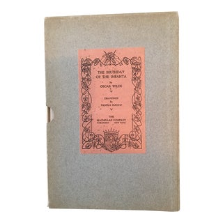 1929 The Birthday of the Infanta by Oscar Wilde, Signed Edition Book For Sale