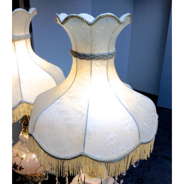 Fabulous Italian Victorian Lamps - a Pair - Image 4 of 7