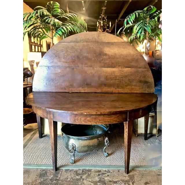 French Provincial Round Dining Table For Sale - Image 9 of 9
