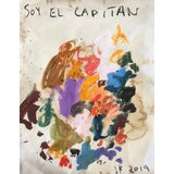 Image of Abstract 'Soy El Capitan' Oil Painting by Sean Kratzert For Sale