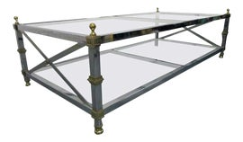 Image of Newly Made Silver Coffee Tables