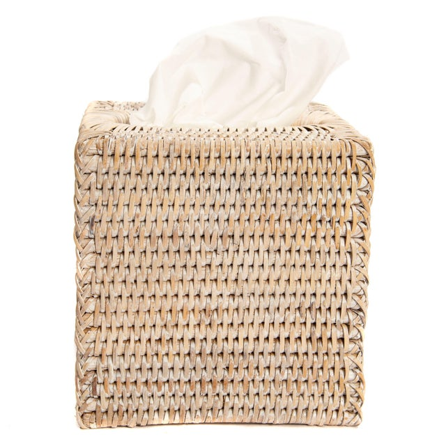 Artifacts Rattan hand woven rattan tissue box covers and boxes provide the perfect accent to any room in the house with a...