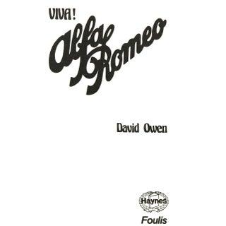 """1976 """"Viva! Alfa Romeo"""" Collectible Book Preview"""