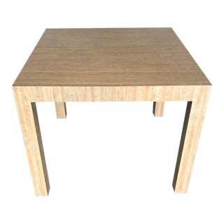 Vintage 1970s Parsons Dining Table For Sale