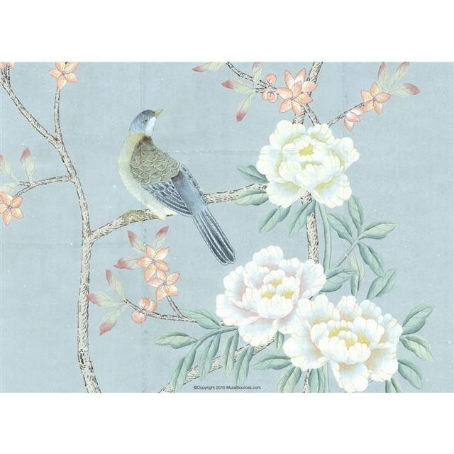 "Chinoiserie Casa Cosima Henri Spring Wallpaper Mural - 1 Panel 36"" W X 108"" H For Sale - Image 3 of 5"