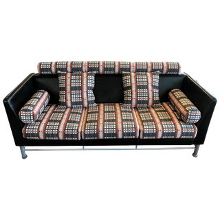 """1980s Vintage Ettore Sottsass """"East Side"""" Sofa for Knoll For Sale"""