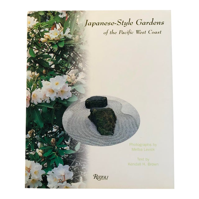"""1999 """"Japanese Style Gardens of the Pacific West Coast"""" Rizzoli Garden & Design Book For Sale"""