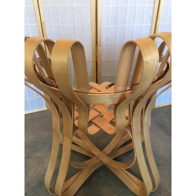 Frank Gehry for Knoll Modern Cross Check Chair For Sale - Image 9 of 11