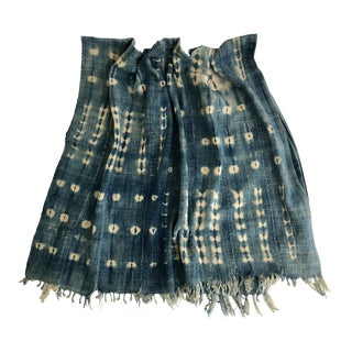 Vintage Mali Indigo Textile Throw