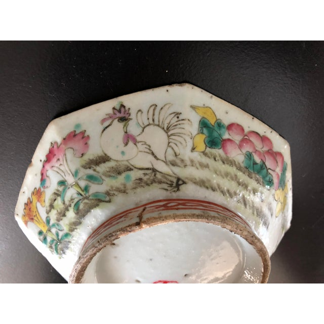Antique Chinese Export Porcelain Bowls - a Pair - Image 5 of 11