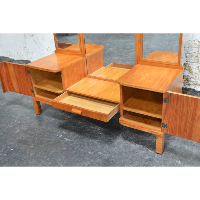 Art Deco Swedish Art Deco Dressing Table Vanity For Sale - Image 3 of 11
