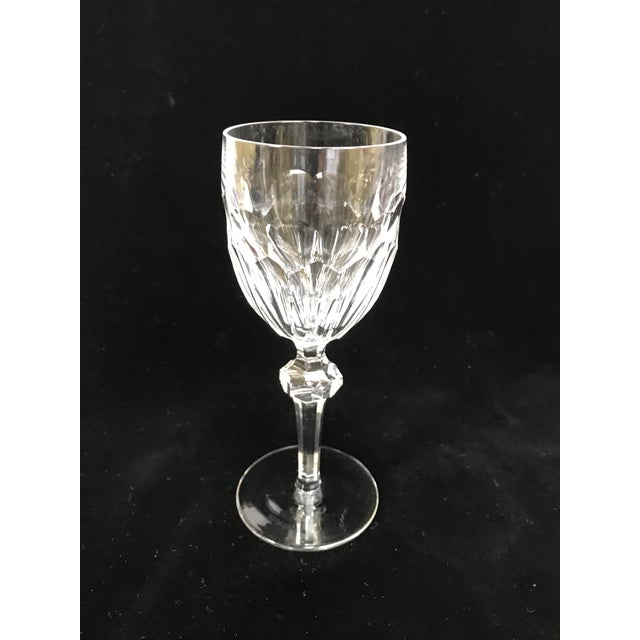 Waterford Clara Cut Crystal Wine Glasses Set Of 8 Chairish