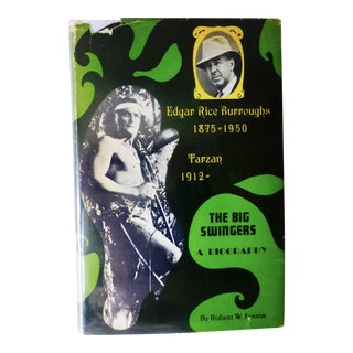 """The Big Swingers, Edgar Rice Burroughs"" 1967 Book"
