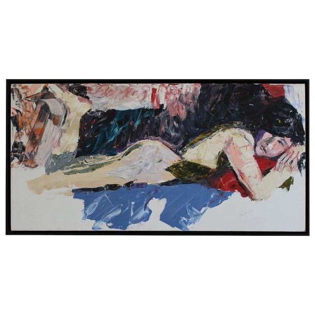 Vintage Nude, Oil on Canvas - Image 1 of 3