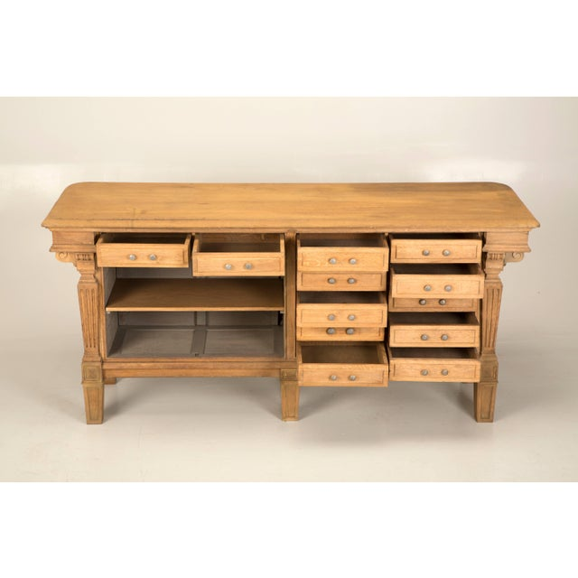 Antique French Kitchen Island or Store Fitting From the Early 1900s For Sale - Image 9 of 10