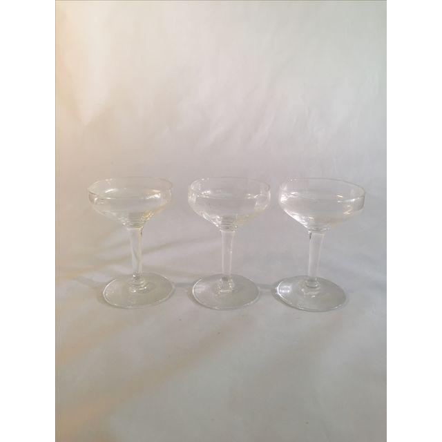 Vintage Champagne Coupes - Image 5 of 6