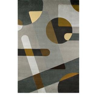 Covet Paris Joh Geometric Rug - 6′7″ × 9′10″ For Sale
