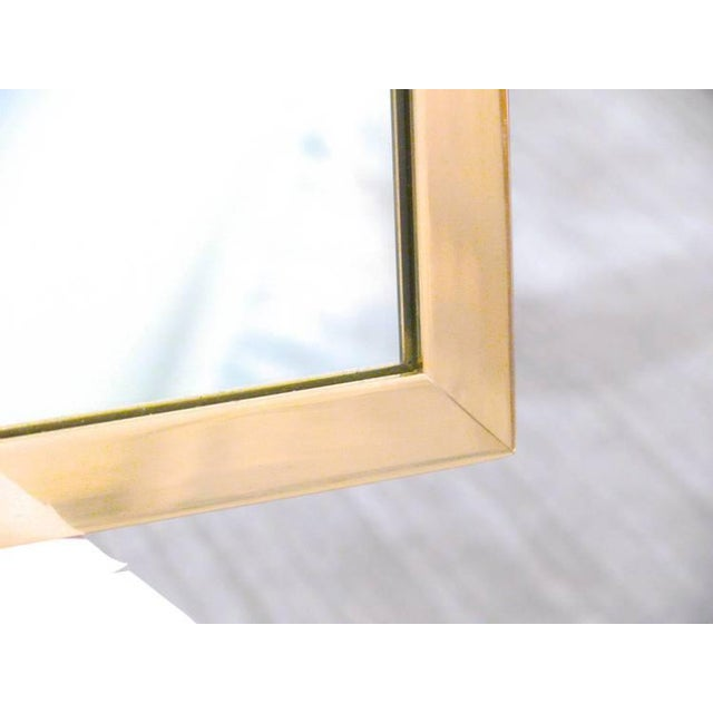 CF Modern Custom Solid Brass Square Mirror - Image 4 of 6