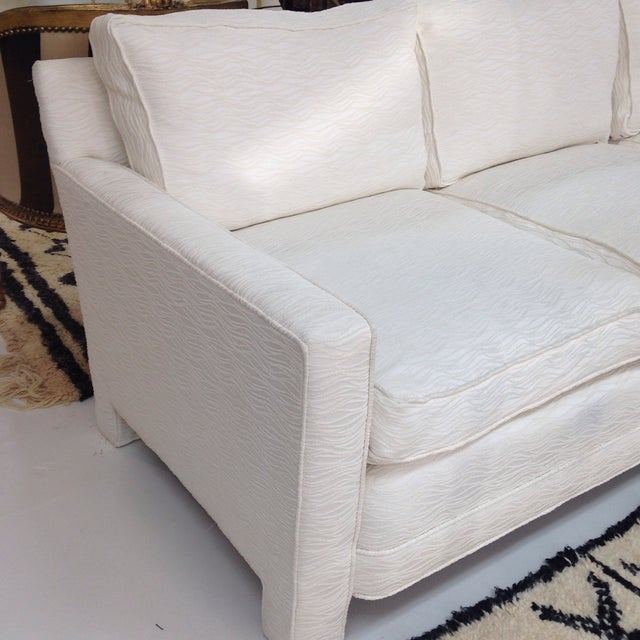 Mid Century Sofa With New Upoholstery - Image 4 of 6