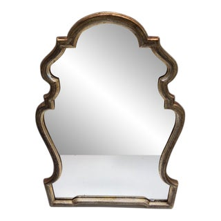 Vintage LaBarge Italian Silver Leaf Mirror