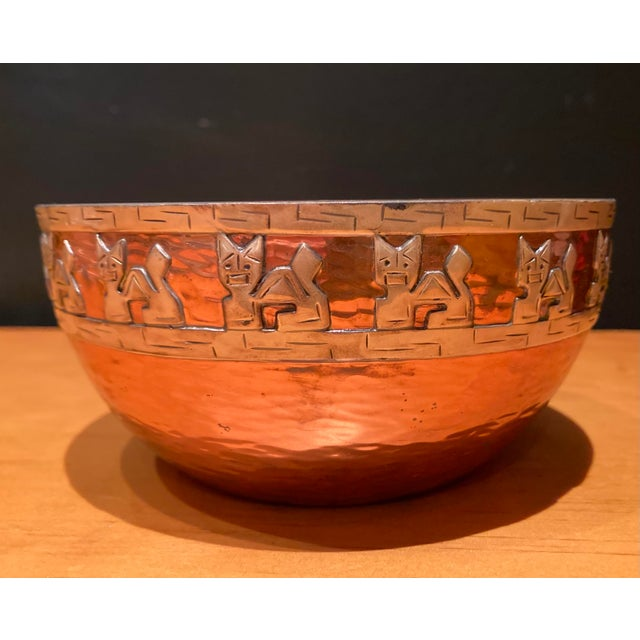 Early 21st Century Vicky Industria Copper & Sterling Bowl For Sale - Image 5 of 5