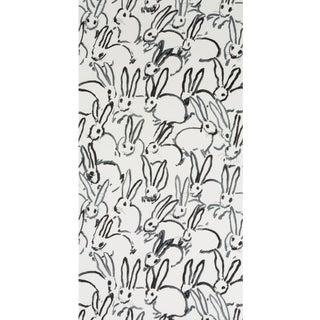 Hunt Slonem for Lee Jofa, Hutch Wallpaper Roll, Cream, 10 Yards For Sale