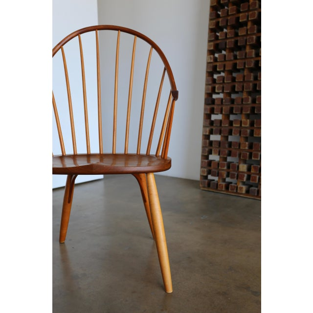 Handcrafted Continuous Arm Chair by John Onstine.
