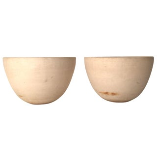 Architectural Pottery Planters - A Pair