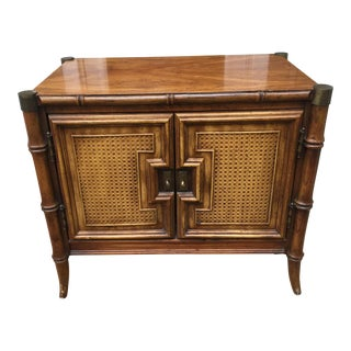 Stanley Faux Bamboo End Table