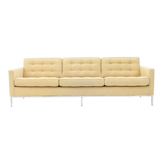 Florence Knoll Sofa for Knoll International For Sale