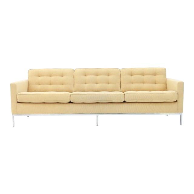 Florence Knoll Sofa for Knoll International For Sale