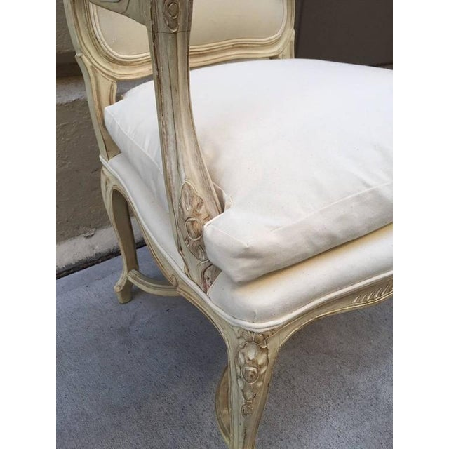 Louis XIV Style Armchairs - A Pair For Sale In New York - Image 6 of 7