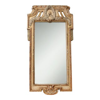 Late 18th Century Gustavian Wall Mirror For Sale