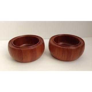 Vintage Digsmed Danish Modern Teak Bowls - Pair Preview
