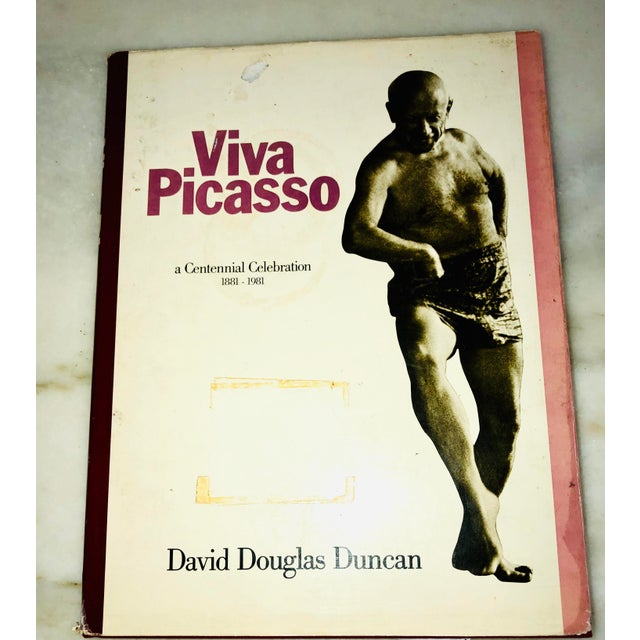 """Vintage 1980 """"Viva Picasso"""" Coffee Table Studio Book For Sale - Image 12 of 13"""