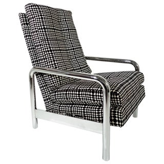 Mid-Century Milo Baughman Reclining Lounge Chair For Sale