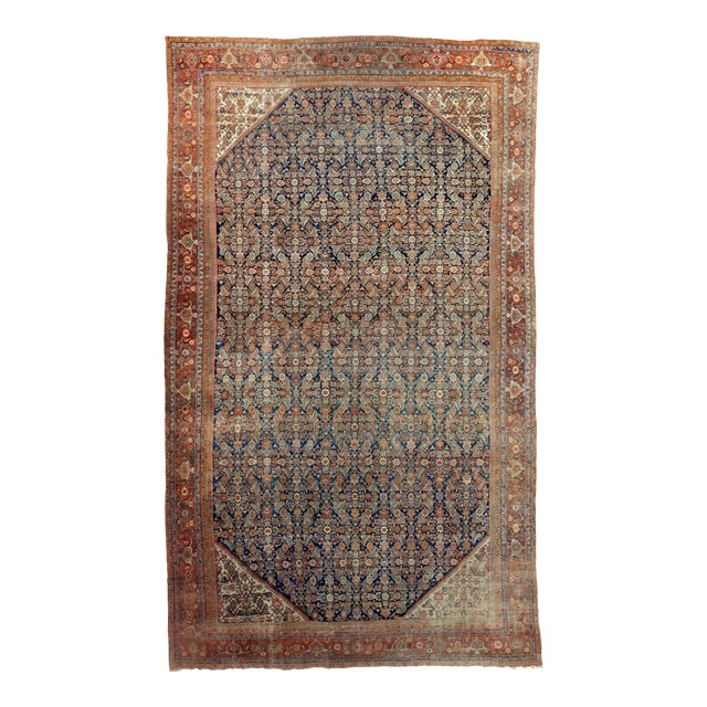 Antique Persian Palatial Rug For Sale
