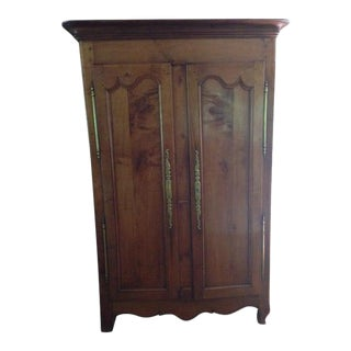 18th Century Louis XV Walnut Armoire For Sale