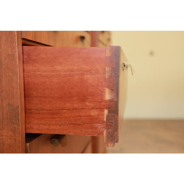 Helmut Magg for Wk Möbel Bachelor Chest - One Available For Sale In South Bend - Image 6 of 10