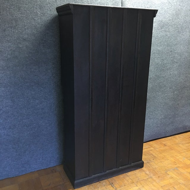 Handcrafted Tall Wooden Armoire by Buena Vista - Image 11 of 11