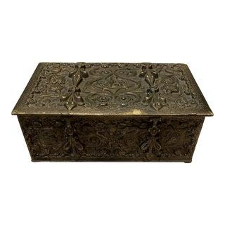 Antique Erhard & Sohne Bronze Box For Sale