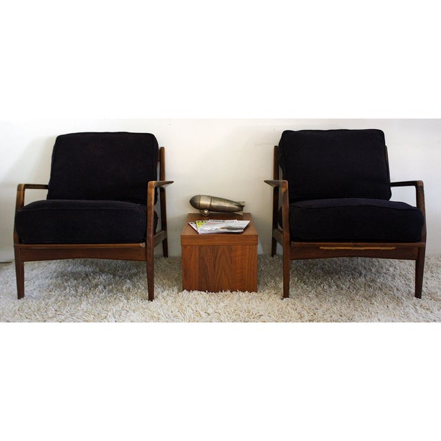Hottie Alert! Gorgeous pair of I.B. Kofod Larsen lounge chairs! The chairs are in amazingly distressed condition - akin to...