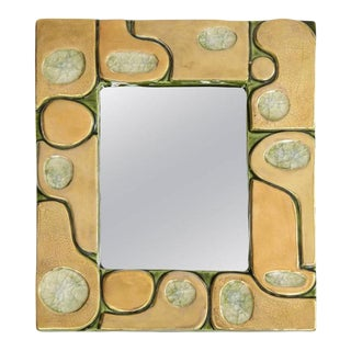 Jeweled Mirror by Francois Limbo For Sale